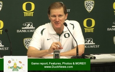 Dana Altman, Tony Woods & Arsalan Kazemi Post Game Interview