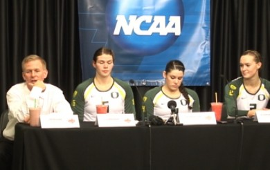 NCAA Volleyball Post Game Press Conference