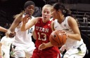 Ute's Spoil Regular Season Finale