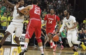 Brooks, Ducks Stay Hot, Upend Utah 76-66
