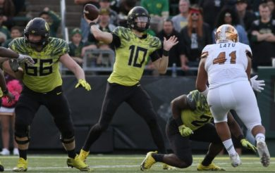 Ducks Snap Skid, Upend ASU 54-35