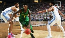 North Carolina Edges Ducks 77-76